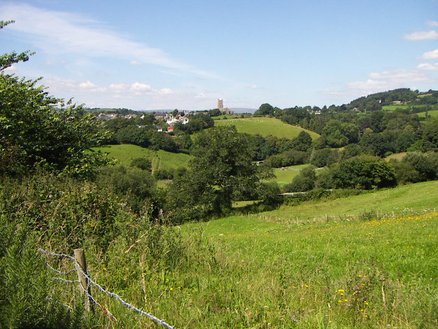 view to Moretonhampstead.