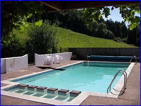 Budleigh farm swimming pool for Farmhouse with swimming pool